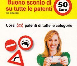 BUONO SCONTO € 50 CON L'ANNO NUOVO